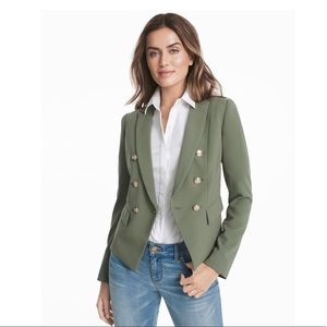 NWT WHBM TROPHY JACKET green size 0